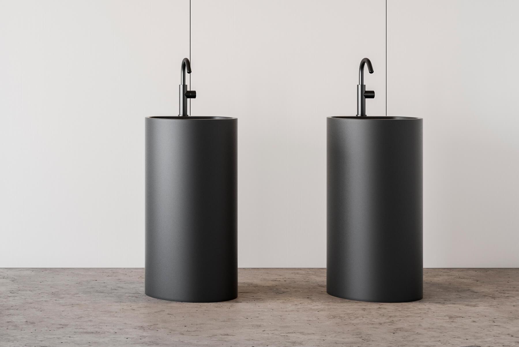 Handmade Concrete Basins