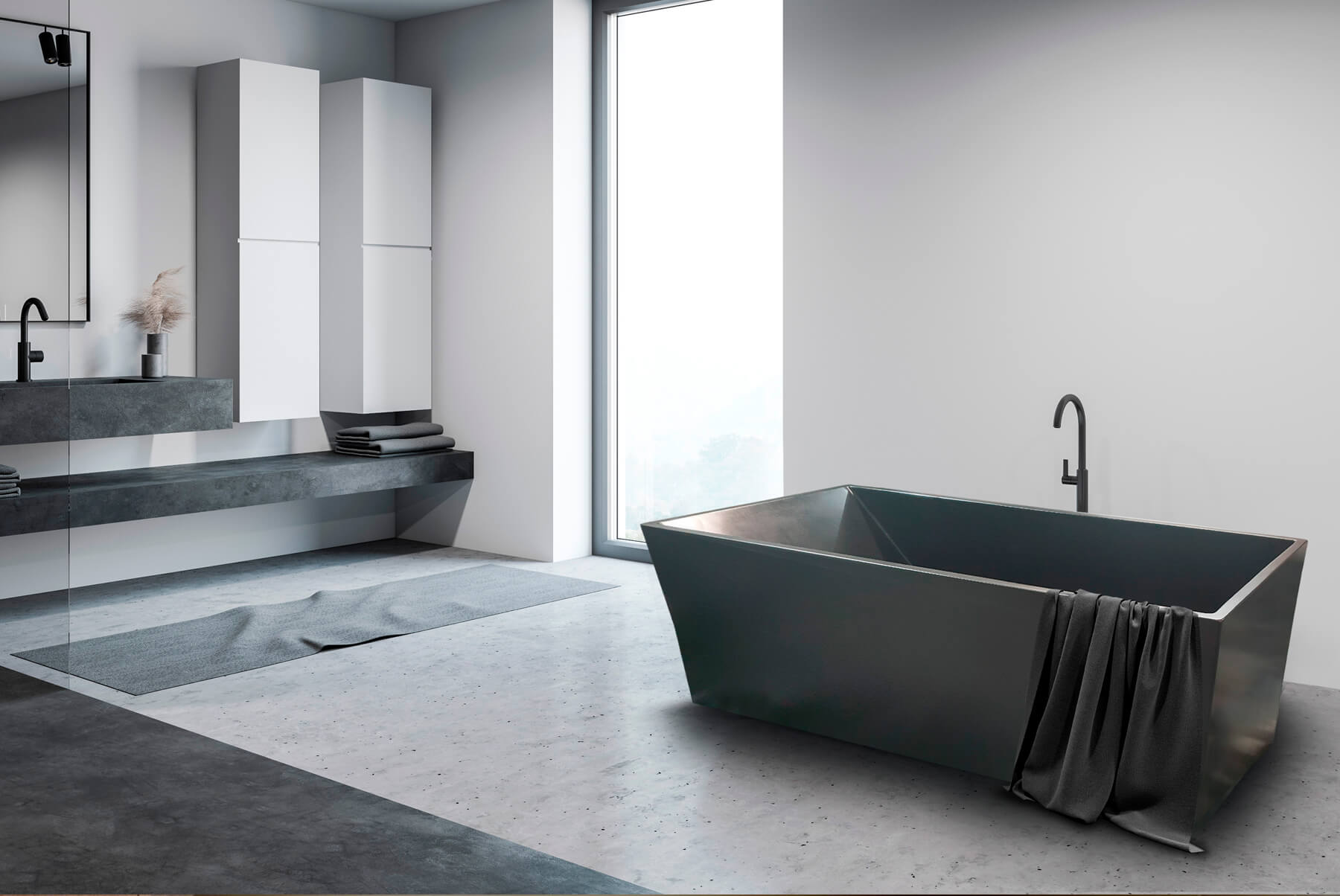 Handmade Concrete Bath tubs
