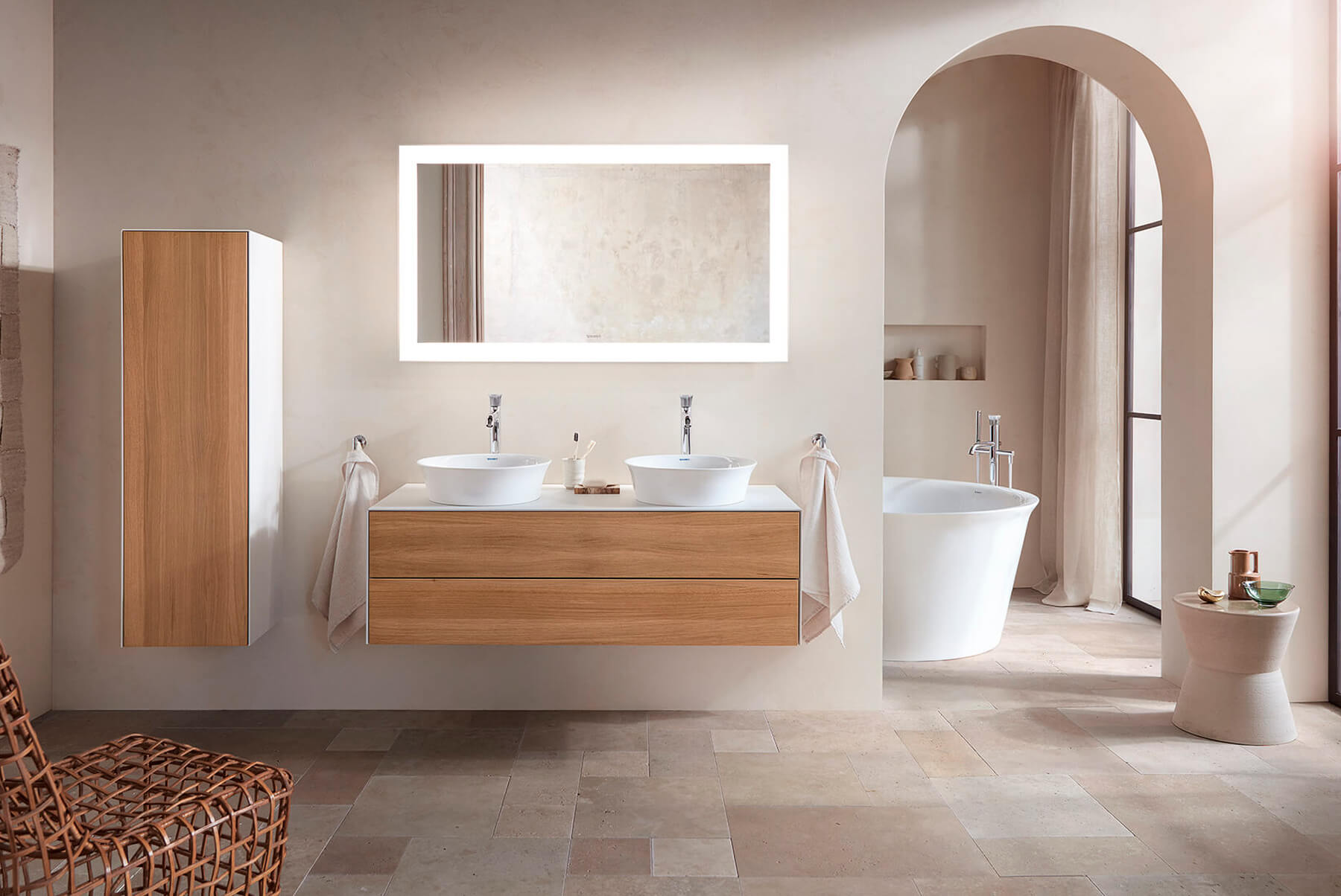 DURAVIT-White-Tulip-Basin-countertop-with-drawer-1800x1204